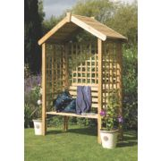 Forest Palermo Arbour 1.5 x 0.6 x 2.1m
