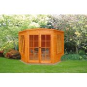 Corner Summerhouse Assembly Included 2.4 x 2.4 x 2.1m