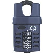 Squire All-Weather Combination Padlock Black 52mm