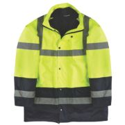 Site Hi-Vis 3-in-1 Jacket Yellow XX Large 61