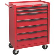 Hilka Pro-Craft 7-Drawer Mobile Trolley with Ball Bearing Slides