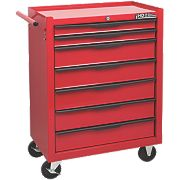 7-Drawer Mobile Trolley with Ball Bearing Slides