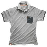 "Scruffs Worker Polo Shirt Grey Large 44-46"" Chest"