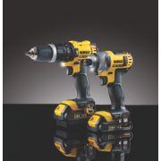 DeWalt DCK285C2 18V 1.5Ah Li-Ion Twin Pack Combi Drill & Impact Driver XR