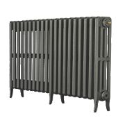 Arroll Neo-Classic 4-Column Cast Iron Radiator Cast Grey 660 x 1200mm