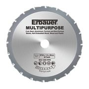 Erbauer Multipurpose Saw Blade 20-Tooth 184mm