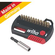 Wiha Hot Torsion Bit & Holder Set 13 Pieces
