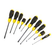 Stanley Cushion Grip Screwdriver Set 10Pcs