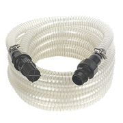 Reinforced Suction Hose with Filter Clear 7m