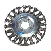 Norton Expert Twist Knotted Wire Wheel Brush 115mm