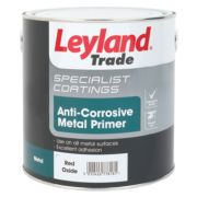 Leyland Trade Anti-Corrosive Primer Red Oxide 2.5ml