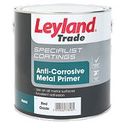 Leyland Trade Anti-Corrosive Primer Red Oxide 2.5Ltr
