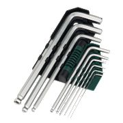 9pc CV Ball-End Hex Key Set