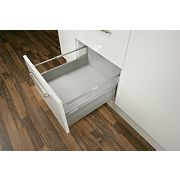 Hafele Moovit Drawer Pan for 600mm Cabinet Silver Grey 600mm