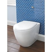 St Ives Back-to-Wall Toilet Dual Flush 6Ltr