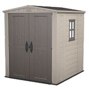 Keter Apex Shed Plastic 6 x 6 x 7