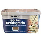 Ronseal Deck Stain Oak Country Oak 2.5Ltr