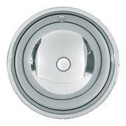 Franke Rondo S/Steel 1 Bowl Undermount Kitchen Sink No Tap Holes 339mm