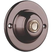 Wired Circular Illuminated Bell Push 63 x 30mm