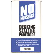 No Nonsense Decking Sealer & Protector Clear 5Ltr
