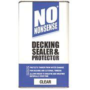 No Nonsense Decking Sealer & Protector Clear 5Ltr