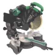 Hitachi C12RSH/J2 305mm Double Bevel Sliding Compound Mitre Saw 110V