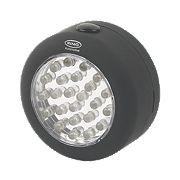 Ring Automotive 24 LED Round Magnetic Utility Lamp 250W