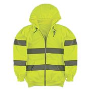 "Portwest Hi-Vis Hoodie Yellow X Large 53"" Chest"