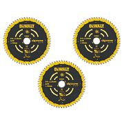 DeWalt DT10396-QZ Extreme TCT Circular Saw Blades 216 x 30mm Pack of 3