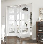 Jeld-Wen Shaker Stile & Rail 4 Panel Interior Room Divider 2044 x 1939mm