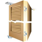 Slik Folding Door Gear 1219mm