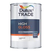Dulux Trade High Gloss Pure Brilliant White 1Ltr