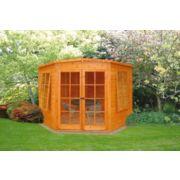 Corner Summerhouse 2.4 x 2.4 x 2.1m
