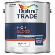 Dulux Trade High Gloss Pure Brilliant White 2.5Ltr