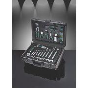 Tool Kit & Aluminium Trolley Case 161 Piece Set