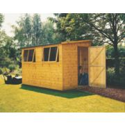 Single Slope Roof Workshop 3 x 3 x 2.1m
