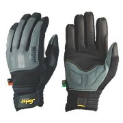 Snickers Power Performance Cut 3 Gloves Grey/Black Large