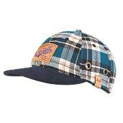 Scruffs Bump Cap Blue Check