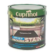 Cuprinol Ultra Tough Decking Stain Hampshire Oak 2.5Ltr