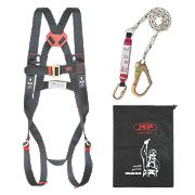 JSP Spartan Single Tail Fall Arrest Kit with 1.8m Lanyard