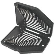 Forge Steel Hex Key Set 30 Pieces