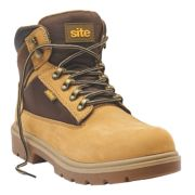 Site Marble Safety Boots Honey Size 10