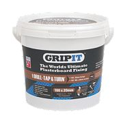 Grip It Type 20-2 Plasterboard Fixings 20 x 20mm Pk100