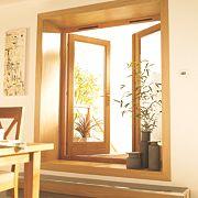 Jeld-Wen Rio 1 Lite French Door Set Oak 1790 x 2090mm