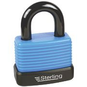 Sterling Weatherproof Padlock Aluminium 48mm