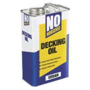 No Nonsense Decking Oil Cedar 5Ltr