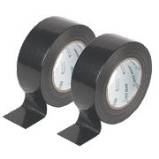 Duck Original Cloth Tapes 50 Mesh Black 50mm x 50m Pack of 2