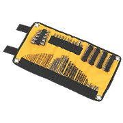 DeWalt Drill Accessory Roll Mat Set 98 Pieces