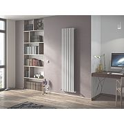 Moretti Ravello Vertical Designer Radiator White 1800x294mm