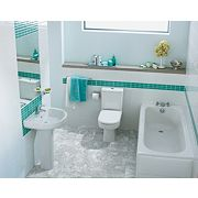 Ideal Standard Contemporary Single Ended Bathroom Suite with Bath